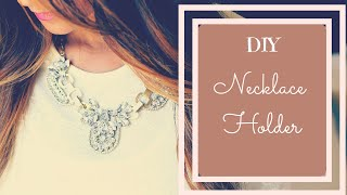 Hello friends!!! In this video I will be showing you how to make a DIY Jewelry Organizer!!! I bet this DIY Necklace holder will be your best DIY Ever! 'Cos n...