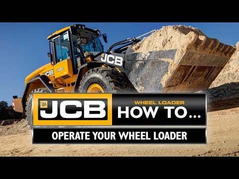 How To Operate Your JCB Wheel Loader