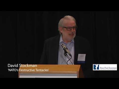 David Stockman at the Ron Paul Institute: 'NATO's Destructive Tentacles'
