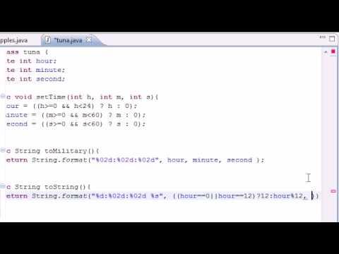 Java Programming Tutorial – 37 – Display Regular time
