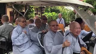 Thiền Viện Linh Chiếu đi chiêm bái Thánh tích Tứ Động Tâm