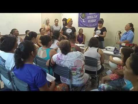 Núcleo Amélias na Confraternização do grupo de Mulheres Rosa Fernandes em Passagem de Areia