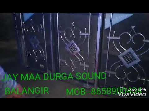 Video JAY MAA DURGA SOUND BALANGIR MOB___8658900404 download in MP3, 3GP, MP4, WEBM, AVI, FLV January 2017