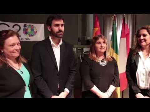 Alumnos de escuelas secundarias de Junín participaron de la simulación estudiantil del G20