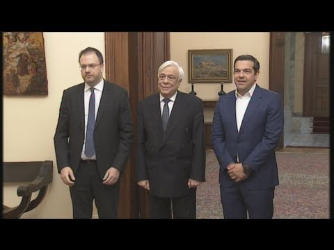 Ορκωμοσία Θ. Θεοχαρόπουλου ως νέου υπουργού Τουρισμού