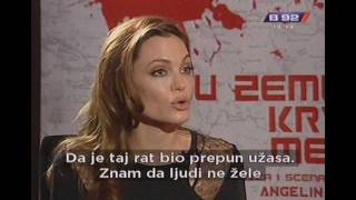 Nonton B92 Interview On Serbian   Angelina Jolie   In The Land Of Blood And Honey  2012 Film Subtitle Indonesia Streaming Movie Download