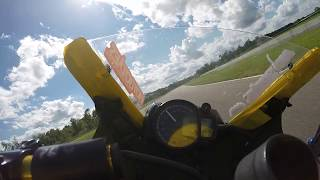 2. CRA Ninja 250r Spec-class - 7/17/16 Race #3 - On Board with Sean Stettnichs #992