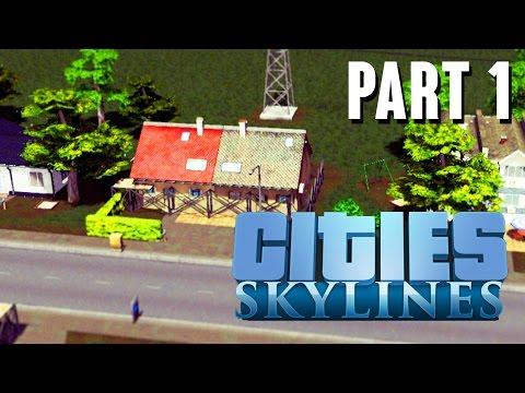 Cities Skylines Gameplay Walkthrough Part 1 – BEST CITY BUILDER YET ???