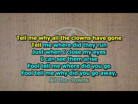 Edguy - All the Clowns (Karaoke) (видео)