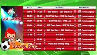 Lịch trực tiếp Bóng đá Nam SEA Games 28 | BLV Quang Huy, sea game,sea games,sea games 28