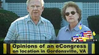 Gordonsville (VA) United States  City new picture : Street Interview - Gordonsville, VA - BRING HOME THE POLITICIANS - eCongressNow