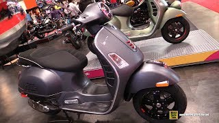 10. 2018 Vespa GTS Super 300 Scooter - Walkaround - 2018 Toronto Motorcycle Show