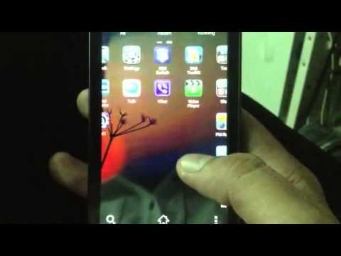 Myphone A888 Duo - demo