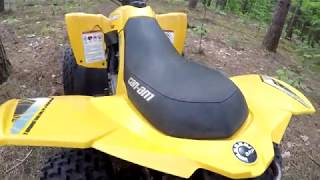 6. Can Am DS70 quick ride