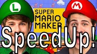 SMOSH: WE'RE IN SUPER MARIO MAKER!  (SpeedUp!)