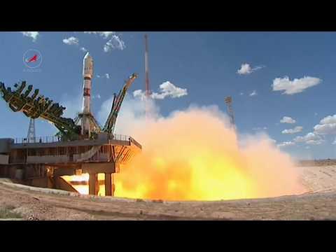 Пуск РКН «Союз-2.1а» с КА «Канопус-В-ИК» и 72 малыми спутниками © Roscosmos