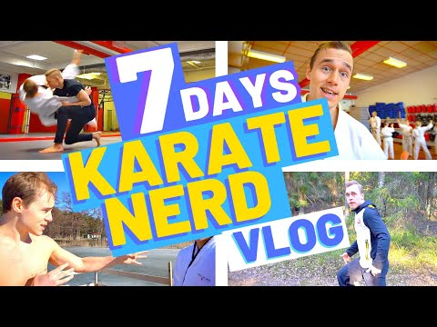 1 Week In The Life Of A Karate Nerd — Jesse Enkamp