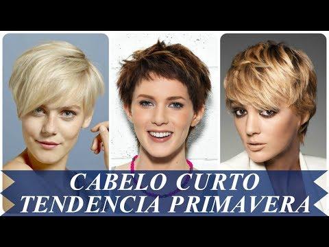 Corte de cabelo - Cortes de cabelo curto tendencia primavera 2018