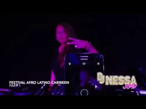 Dj Nessa @ Festival afro latino caribéen and more (видео)
