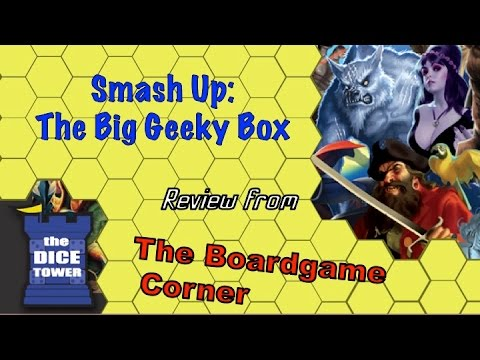 video review - Mark and Randy take a look at Smash Up's latest expansion, a large box with a special faction! Buy great games at http://www.coolstuffinc.com Find more reviews and videos at http://www.dicetower.com.