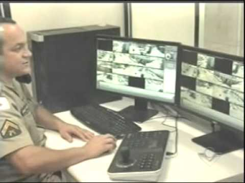 Projeto Olho Vivo é lançado em Ituiutaba - São 16 câmeras de segurança