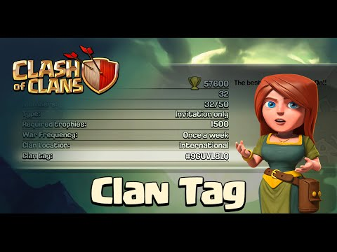 tags - Clan #HASHTAGS (Tags) New Searching Feature! Clash of Clans Boom Beach & Clash of Clans Gameplay! High Level, Strategy, Updates & more! ✓Subscribe Today!: http://goo.gl/2qkJ8I ✓Get Free...