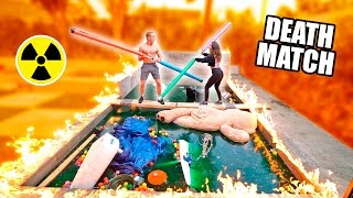 Video GLADIATOR DEATHMATCH OVER OUR TOXIC POOL (Don't Fall In) MP3, 3GP, MP4, WEBM, AVI, FLV Januari 2018