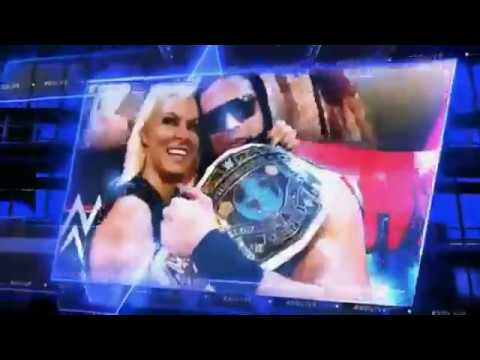 WWE SmackDown Live Intro 2016-2017 (After Draft) (With Pyro)