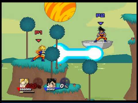 Super Smash Flash 2 Character Moves Goku