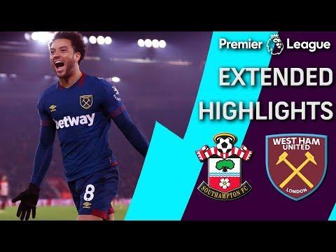 Video: Southampton v. West Ham | PREMIER LEAGUE EXTENDED HIGHLIGHTS | 12/27/18 | NBC Sports