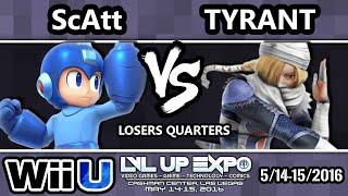 LVL Up Expo – ScAtt (Mega Man, Cloud) Vs. NME | Tyrant (Metaknight) LQ
