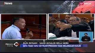 "Video Pengacara Ahmad Dhani Cecar Saksi JPU Rudi Rosadi soal Pelaporan ""Video Idiot"" - iNews Siang 05/03 MP3, 3GP, MP4, WEBM, AVI, FLV Maret 2019"