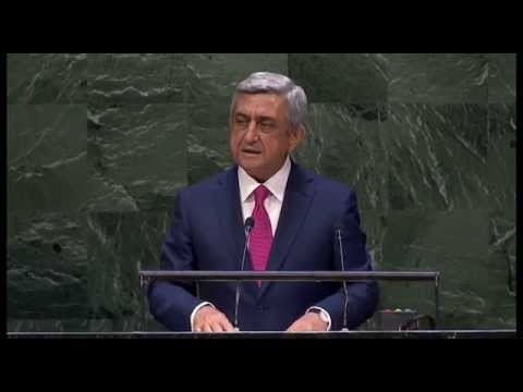Serj Sargsyan - Նախագահ Սերժ Սարգսյանի ելույթը ՄԱԿ-ի գլխավոր ասամբլեայի 69-րդ նստաշրջանում-24.09.2014թ. Ավելի մանրամասն - http://www.president.am/hy/press-release/item/2014/...