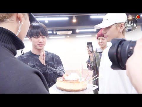 [BANGTAN BOMB] Jin's Surprise Birthday Party - BTS (방탄소년단)