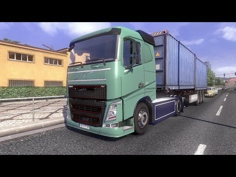 Volvo FH Danish – Dutch + Interior Falk ivery