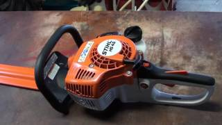 6. Stihl HS 45 Hedge Trimmer Review