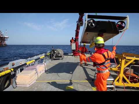 Clean Sea il drone sottomarino dell'ENI nel mare di merda di Crotone