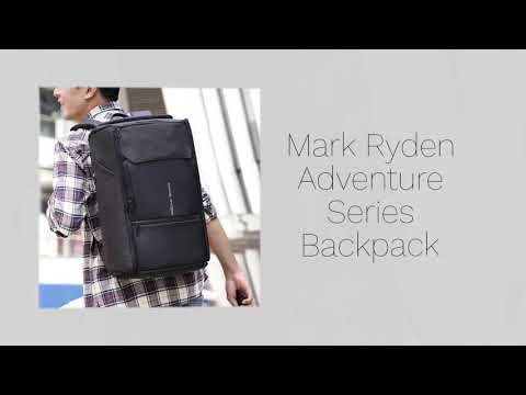 Mark Adventure Series Anti-Theft Cable Lock 17 inch Laptop Backpack