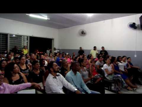 Jogador Thiago Ribeiro em Paranaíba - MS, IG AP Sinais e Maravilhas de Deus