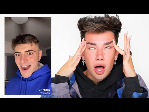 Reacting to James Charles Impressions!