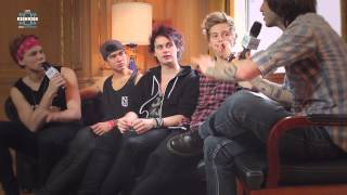 5 Seconds Of Summer - Intervista a Radio Kiss Kiss