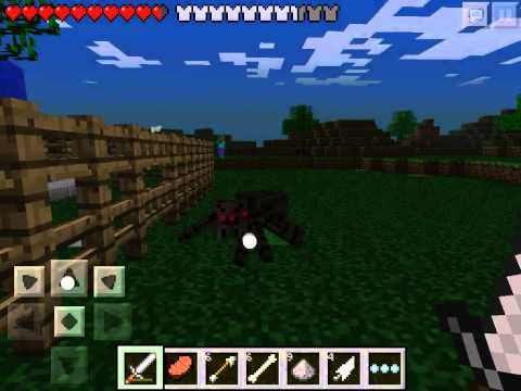 Let's play Minecraft Pocket Edition #15 - Ночная охота