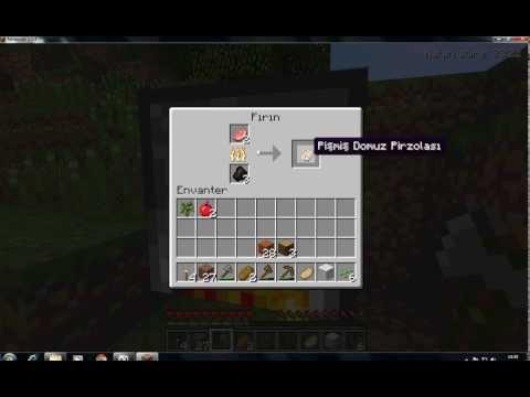 odun minecraft kömür nasıl yapılır?