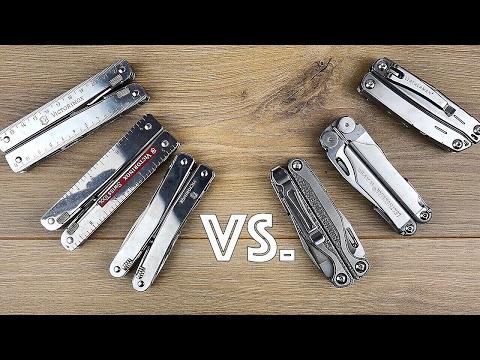 Victorinox vs. Leatherman - Wer baut das BESSERE MULTITOOL? // DEUTSCH