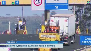 Pedágios das rodovias de SP ficam 4,66% mais caros