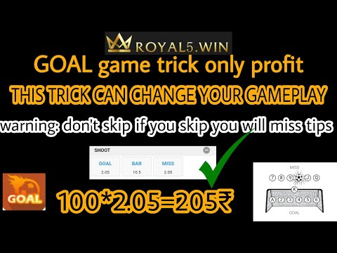 Royal win goal game trick | 99.9% working | dont skip listen carefully