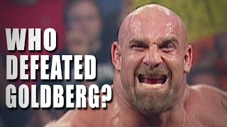 image of The 5 Superstars who defeated Goldberg – 5 Things