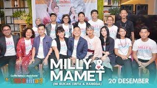 Video MILLY & MAMET (Ini Bukan Cinta & Rangga) Launching Trailer MP3, 3GP, MP4, WEBM, AVI, FLV Desember 2018