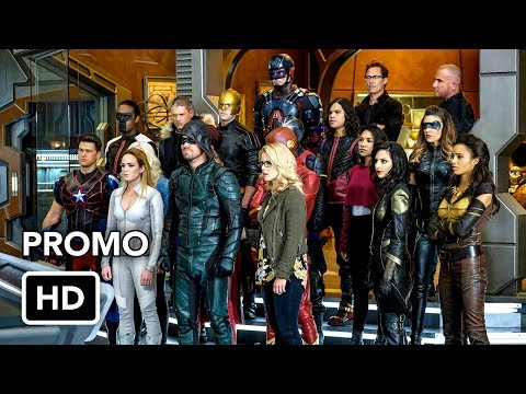 DCTV Crisis on Earth-X Crossover Promo #3 The Flash, Arrow, Supergirl, DC's Legends of Tomorrow (HD)