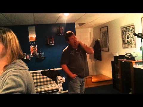 Jarrod drunk karaoke